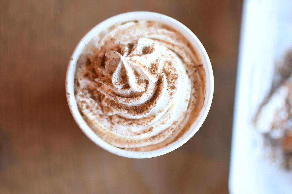 Brown Sugar Cinnamon Latte Avenida Café