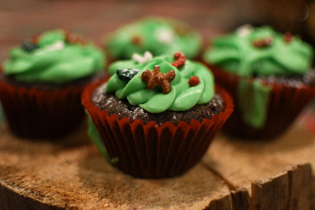 Corona de Cupcakes